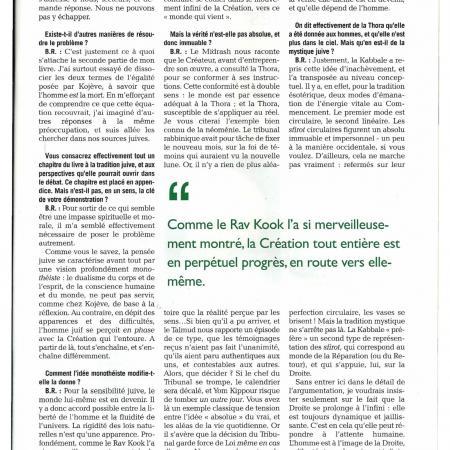 Information Juive (mars 2019) - Du malheur - Entretien avec Betty Rojtman
